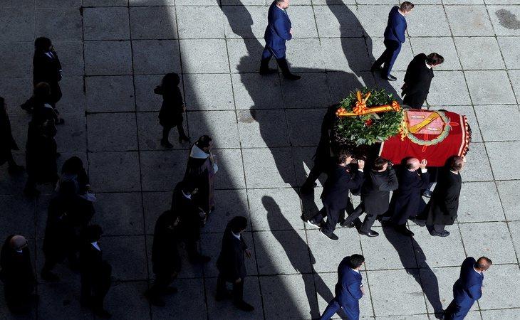 Franco fue exhumado el pasado 24 de octubre