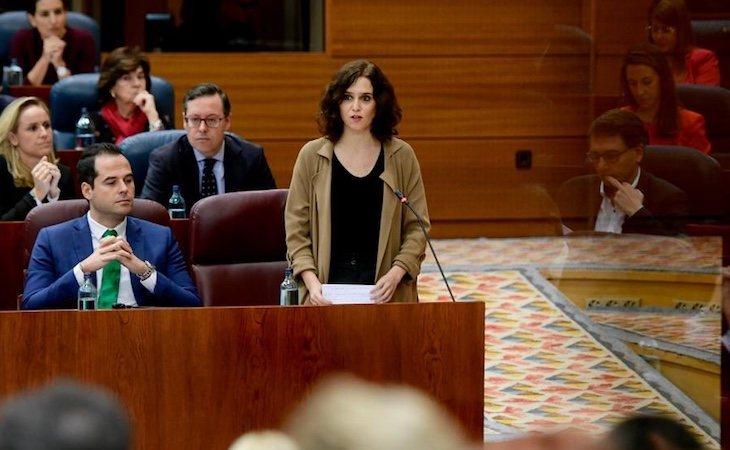 Díaz Ayuso ha declarado que concibe el aborto como 'un fracaso' | Fuente: redes sociales