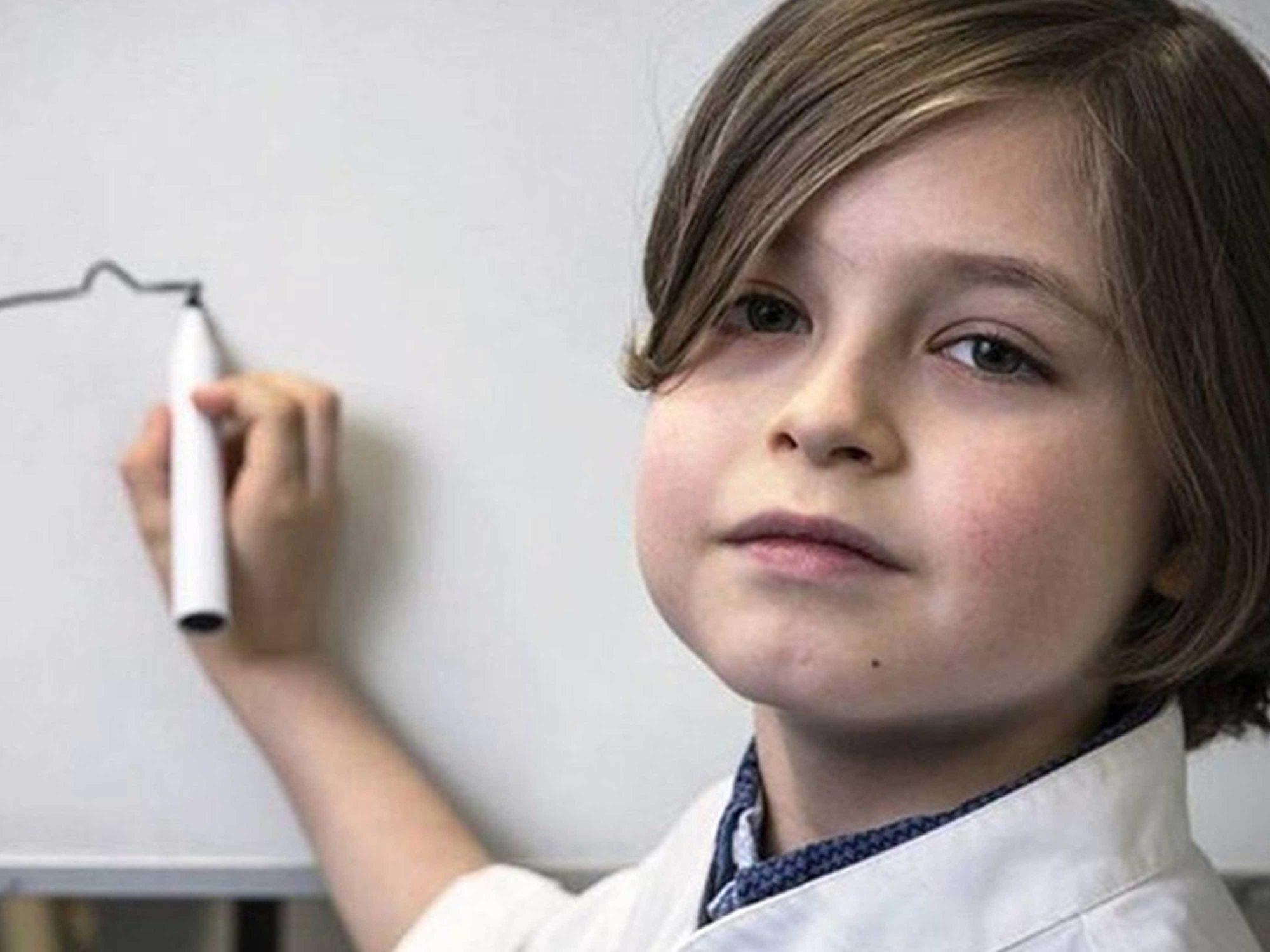 Laurent, el niño genio que está a punto de terminar una carrera de ingeniería con 9 años