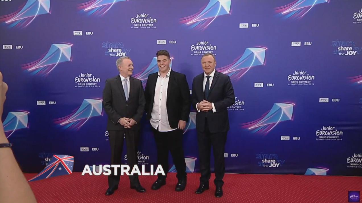 El australiano Jordan Anthony es el quinto representante del país en el evento infantil. Admite que tiene muchas ganas de visitar la ciudad ...