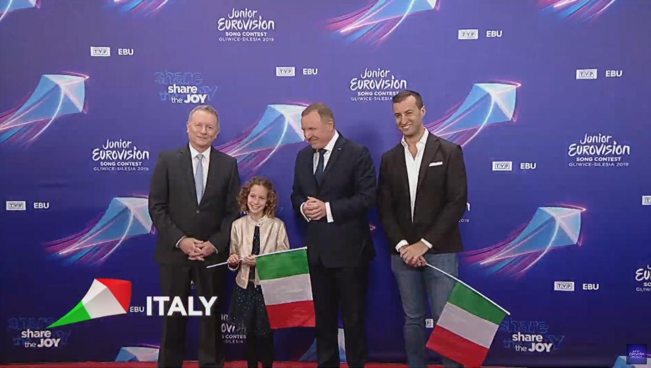 'La voce de la terra' es el tema italiano para Eurovisión Junior 2019. La pequeña Marta Viola lo interpretará sobre el escenario del Gliwice Arena.