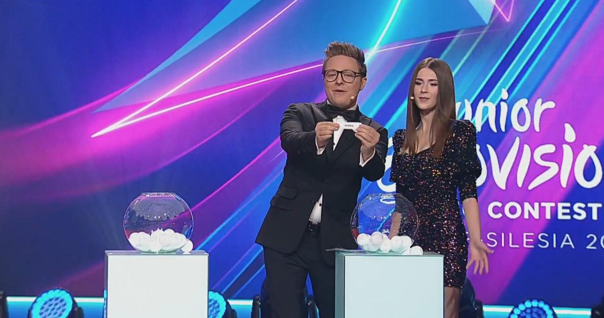 Por último, Serbia tendrá el honor de cerrar las actuaciones de los 19 países participantes en la 17ª edición de Eurovisión Junior.