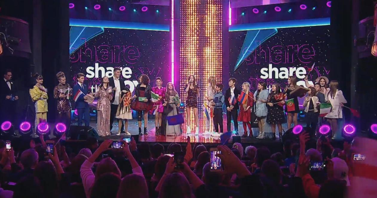 Tras este 'amigo invisible' entre los niños de Eurovisión Junior 2019, Roksana Wegiel pone voz a 'Share The Joy', el tema dedicado al lema de este ...