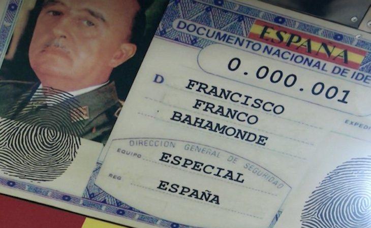 A Franco se le reservó el número uno | Fuente: Captura de vídeo