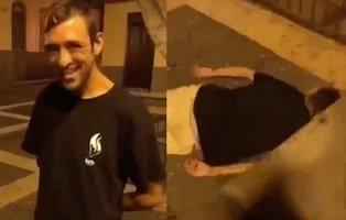 Graban una brutal agresión a un sintecho en Gran Canaria tras pagarle cinco euros