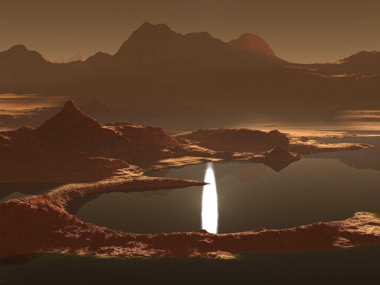 El primer mapa global de la luna Titán muestra una superficie similar a la Tierra