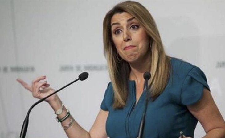 La posición de Susana Díaz se complica tras la sentencia del Caso ERE