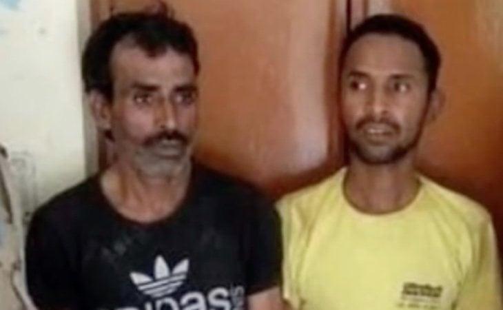 Los asesinos confesos | Fuente: captura de vídeo