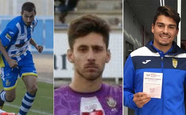 Los tres ex jugadores de La Arandina Club de Fútbol