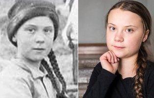 La teoría conspiratoria que afirma que Greta Thunberg viaja en el tiempo