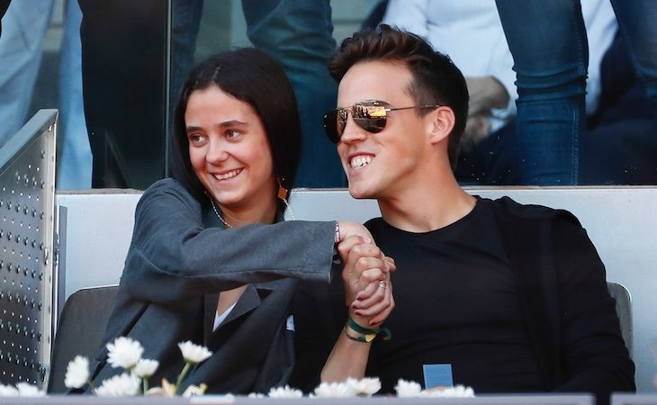 Victoria Federica y su ex pareja, Gonzalo Caballero