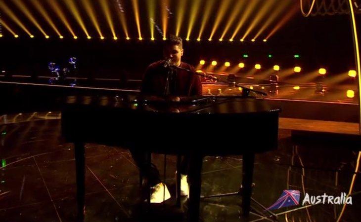 Comienza Australia, representada por Jordan Anthony y su tema 'We will rise'