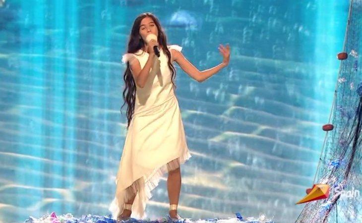 ¡Espectacular actuación de Melani, representante de España en Eurovision Junior 2019!
