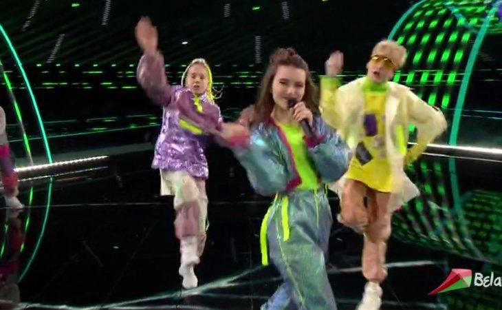 Llega Liza Misnikova, representante de Bielorrusia con su tema 'Pepelny (Ashen)'