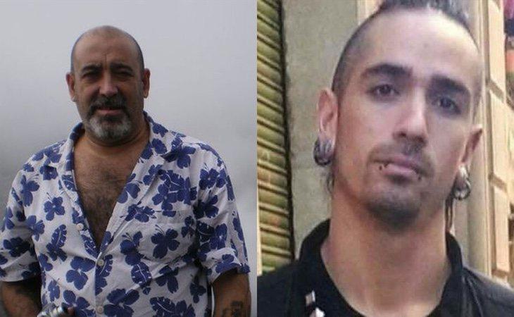 Víctor Laínez (izquierda) murió como consecuencia de los golpes proferidos por Rodrigo Lanza (derecha)