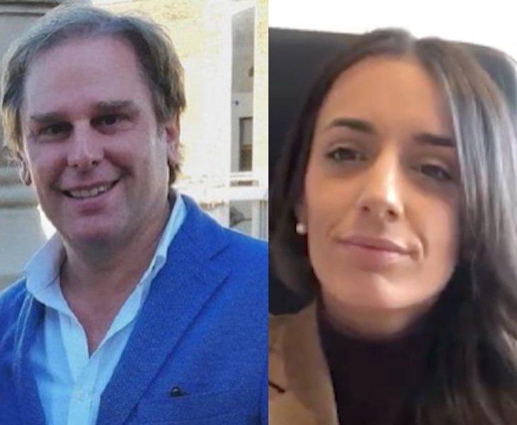 Mónica Lora y Jaun Garriga, procesados por un delito de odio | Fuente: Twitter