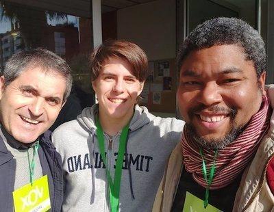 Un militante negro de VOX en Barcelona, indignado al saber que hay nazis en su partido