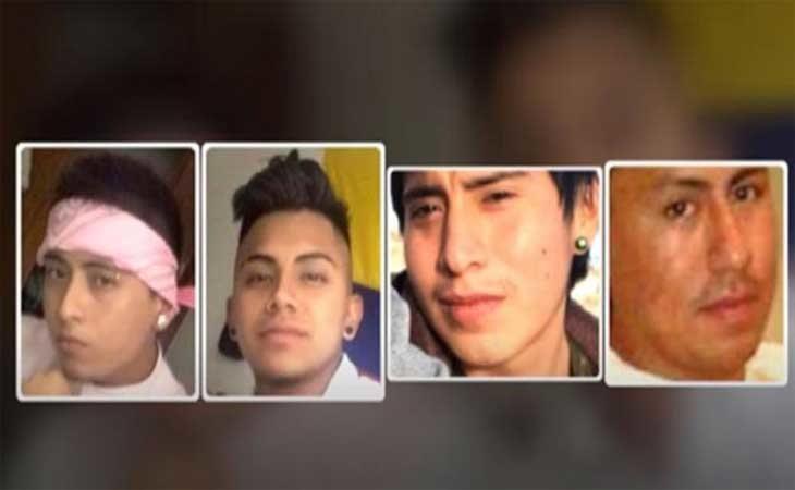 Los cuatro miembros de 'La Manada de Alicante'