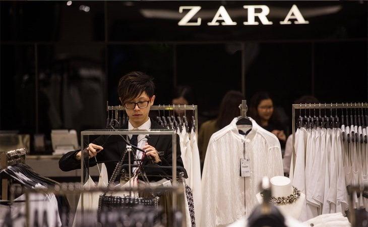 Un empleado de Zara
