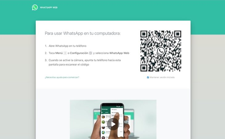 WhatsApp Web ya tiene modo oscuro