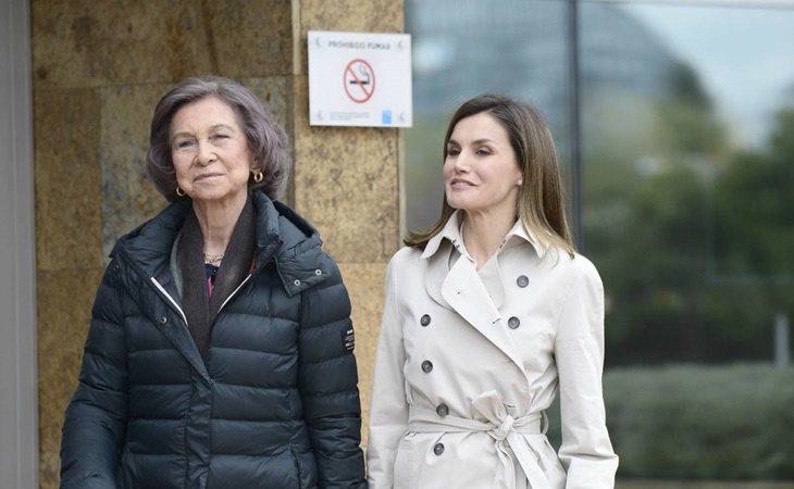 La reina Letizia con Sofía
