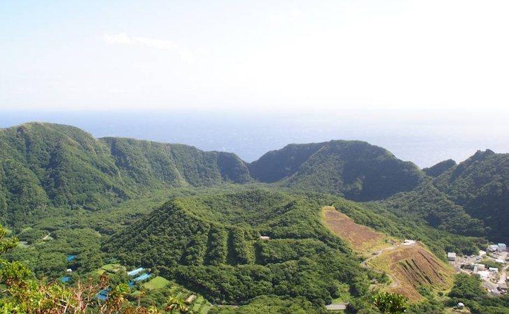 Los habitantes viven en el cráter ce un volcán | Fuente: Portal oficial de turismo de Tokio