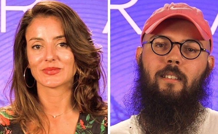 Petra Adrover y Juan Antonio Labory, amigos de Carlota en 'GH Revolution'