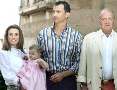 """Juan Carlos recomendó a Felipe la """"marcha atrás"""" para no tener un hijo varón tras Leonor y Sofía"""