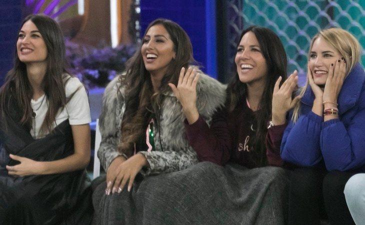 Estela Grande, Naoemí Salazar, Irene Junquera y Alba Carrillo, las 'pijitanas' de 'GH VIP 7'