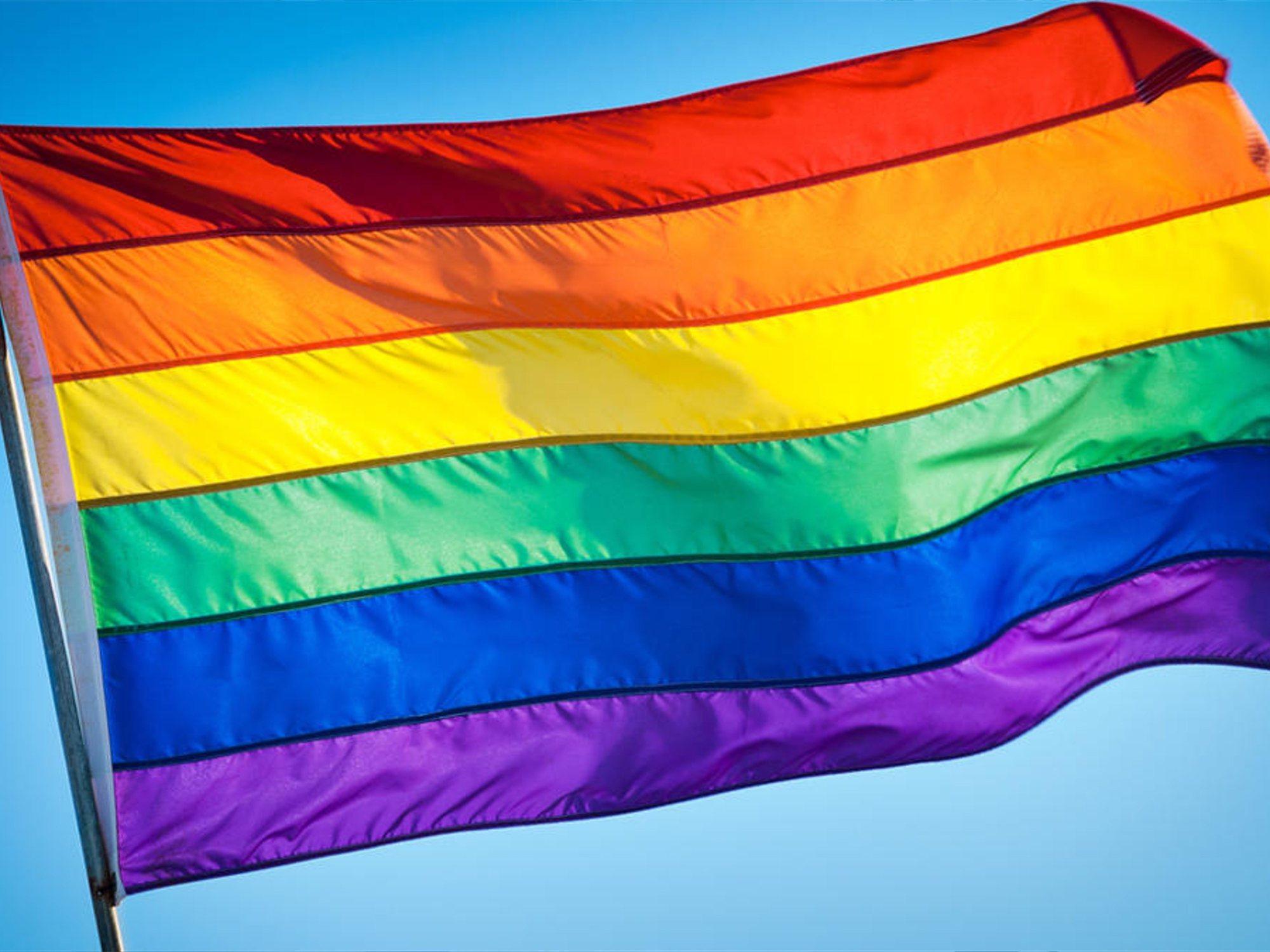 Ciudadanos y PP repintan de negro los semáforos LGTBI en Granada