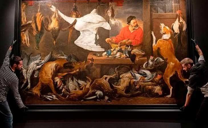 'The Fowl Markey' de Frans Snyders