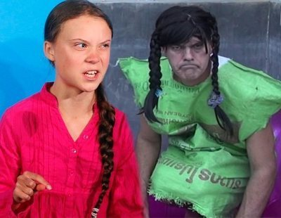 """Frank Cuesta publica un vídeo llamando """"bicho"""" a Greta Thunberg y las redes estallan"""