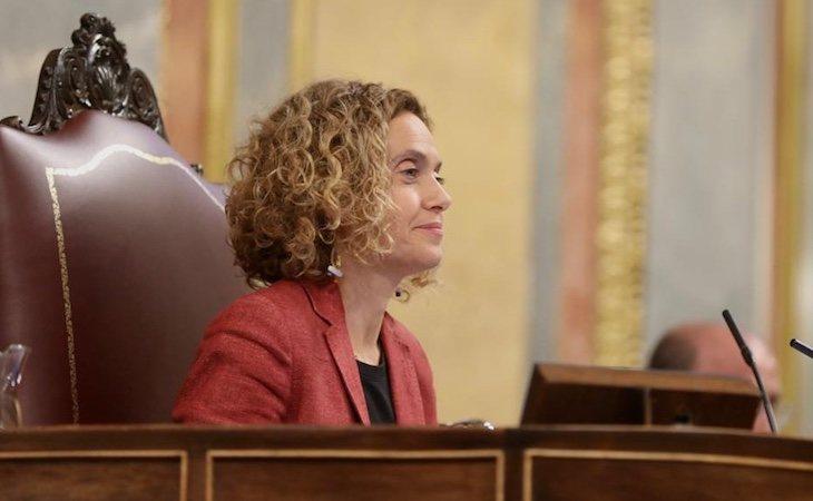 Meritxell Batet, elegida de nuevo como presidenta del Congreso