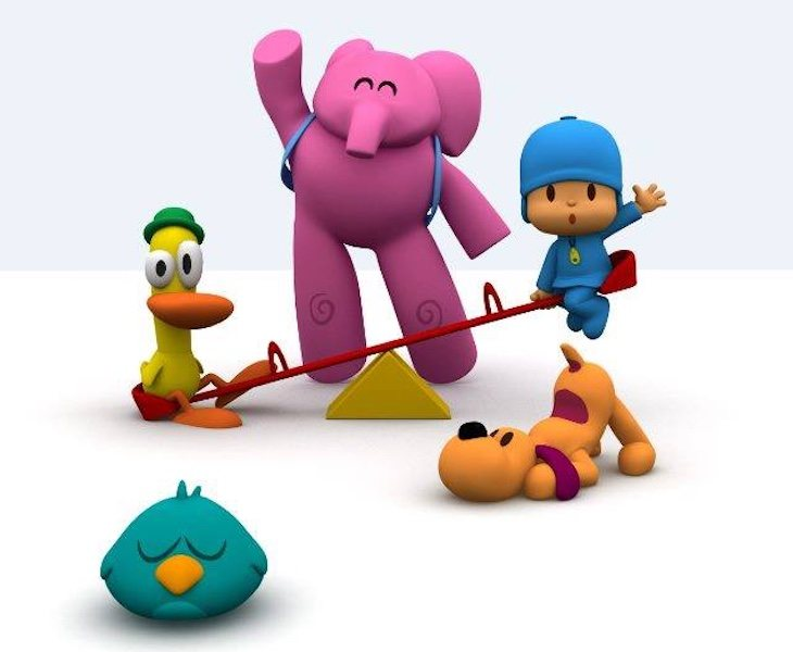 Pocoyó narra las aventuras de un niño (o niña) de cuatro años y sus amigos