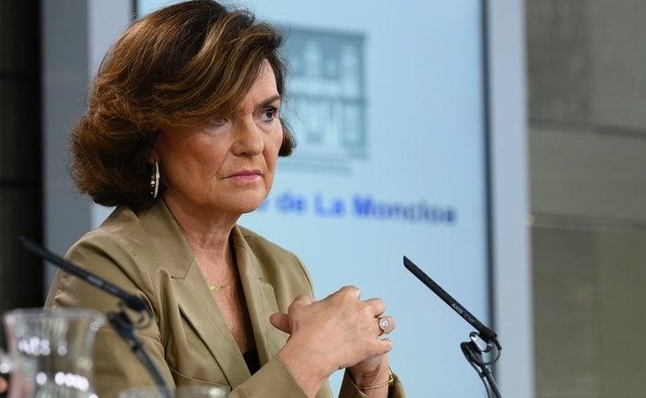 Carmen Calvo podría ser imputada por la concesión de un crédito durante su etapa en la Junta de Andalucía