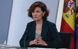 La sombra de la imputación persigue a la 'vice' Carmen Calvo por la corrupción en Andalucía