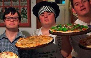 Cuatro amigos con Síndrome de Down abren su propia pizzería tras no encontrar trabajo