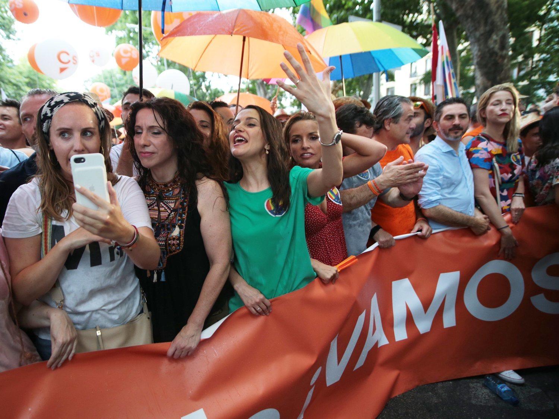 La Fiscalía pide archivar la denuncia de Cs en el Orgullo LGTBI descartando agresiones y delito de odio