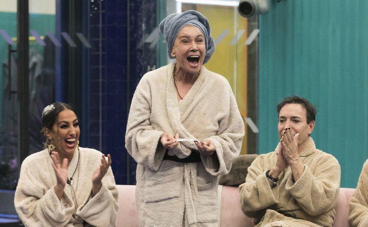 Mila Ximénez ha salido victoriosa de una batalla contra sí misma en 'GH VIP 7'