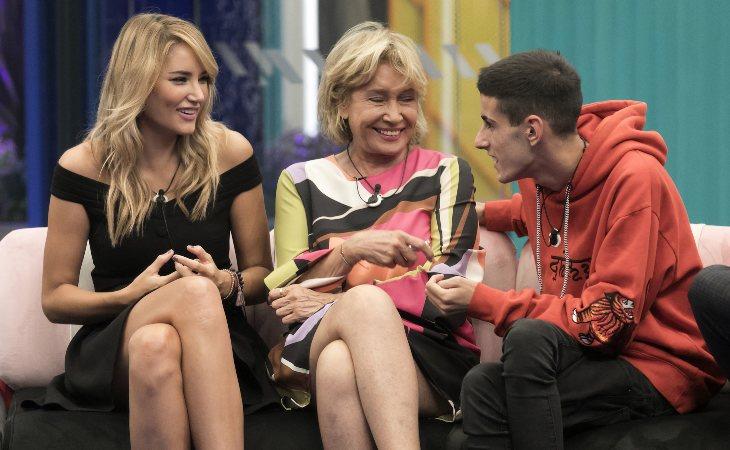 Alba Carillo, Mila Ximénez y El Cejas en 'GH VIP 7'