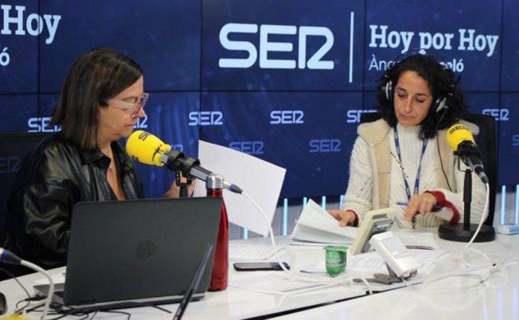 Patricia Ramírez durante la entrevista en 'Hoy por hoy'