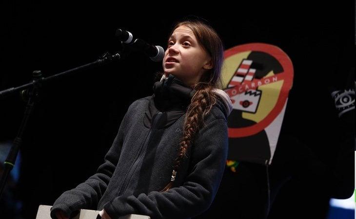 La joven ha tenido la oportunidad de participar en la Marcha por el Clima de Madrid