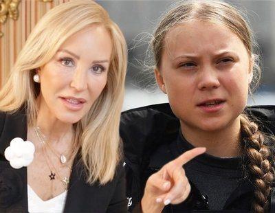 """Carmen Lomana estalla contra Greta Thunberg: la califica de """"patética"""" y """"enferma"""""""