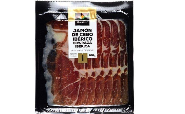 El jamón Realvalle es el tercero mejor de los supermercados
