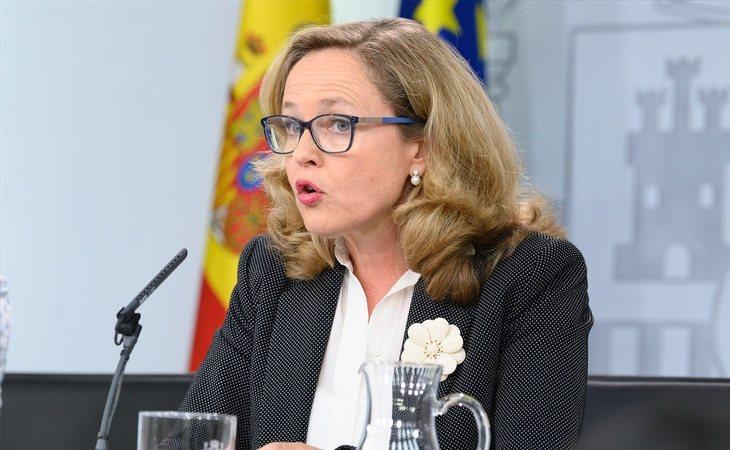 Nadie Calviño, actual ministra de Economía en funciones, se convertiría en el principal contrapeso de Unidas Podemos dentro del Gobierno
