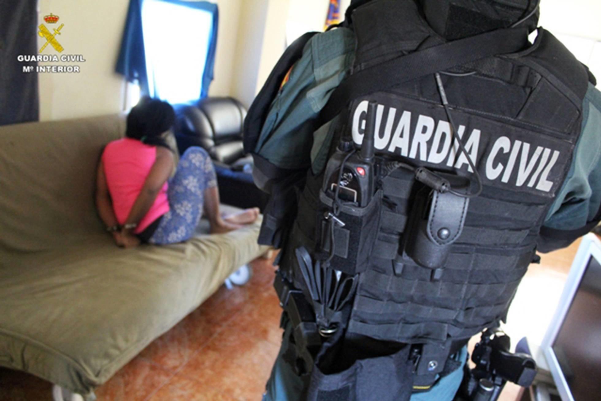 Los detenidos se negaron a declarar | Fuente: Guardia Civil