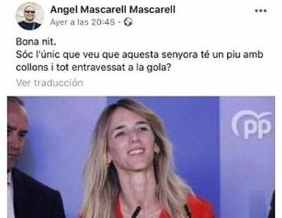 """Un concejal, sobre Álvarez de Toledo: """"¿Solo yo veo un pene atravesado en la garganta?"""""""