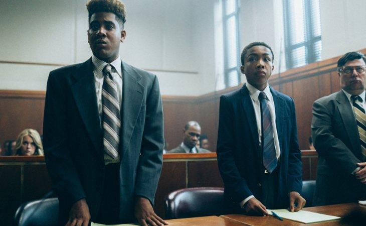 Asante Blackk y Jharrel Jerome en 'Así nos ven'
