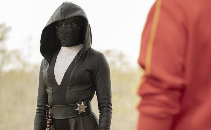 Regina King como la inspectora Angela Abar en 'Watchmen'
