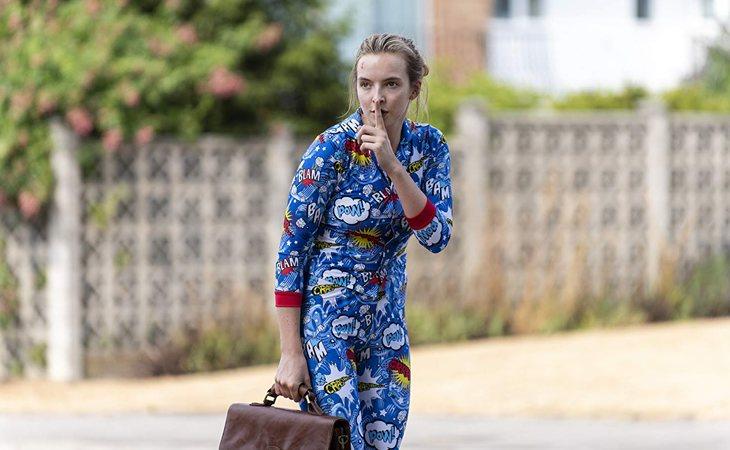 Jodie Comer en la segunda temporada de 'Killing Eve'